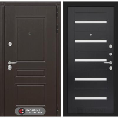 Стальная дверь Лабиринт Мегаполис 01 (Венге)