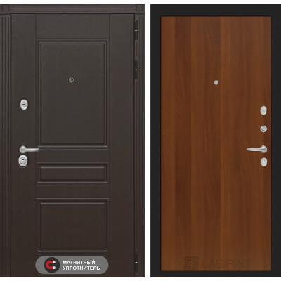 Стальная дверь Лабиринт Мегаполис 05 (Итальянский орех)