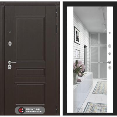 Стальная дверь Лабиринт Мегаполис Максимум (Белый софт)