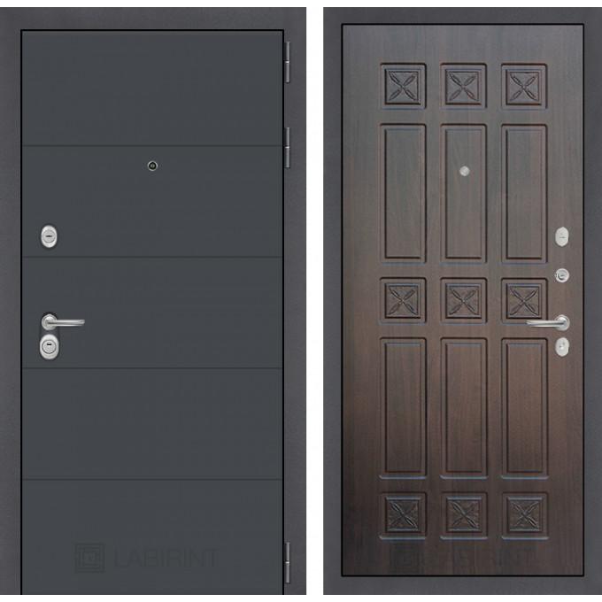 Стальная дверь Лабиринт ART 16 (Алмон 28)