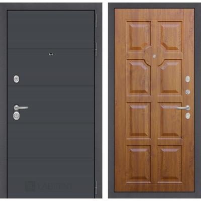 Стальная дверь Лабиринт ART 17 (Золотой дуб)