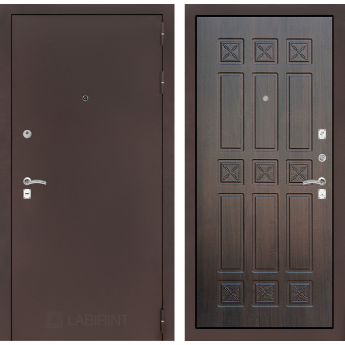 Дверь Лабиринт Classic 16 (Антик медный / Алмон 28)