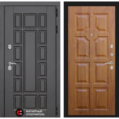 Стальная дверь Лабиринт NEW YORK 17 (Золотой дуб)