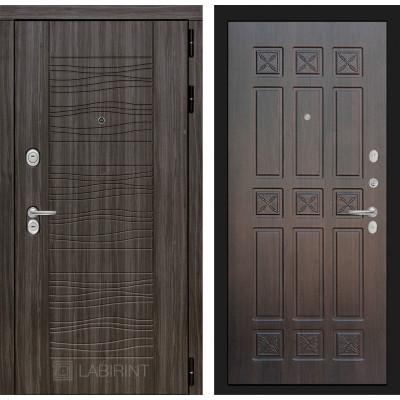 Стальная дверь Лабиринт SCANDI 16 (Алмон 28)