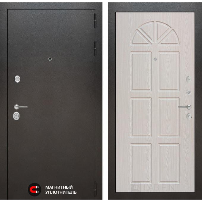 Стальная дверь Лабиринт SILVER 15 (Алмон 25)