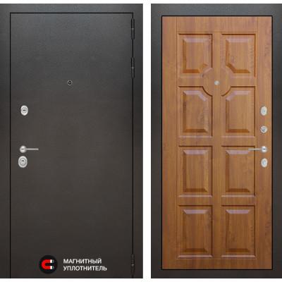 Стальная дверь Лабиринт SILVER 17 (Золотой дуб)
