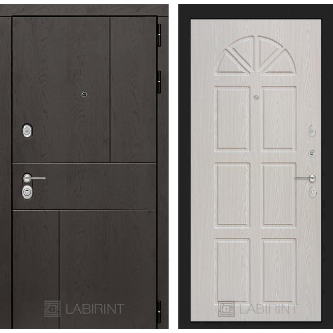 Стальная дверь Лабиринт URBAN 15 (Алмон 25)