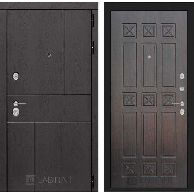 Стальная дверь Лабиринт URBAN 16 (Алмон 28)