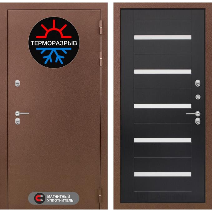 Стальная дверь Лабиринт Термо Магнит 01 (Венге)