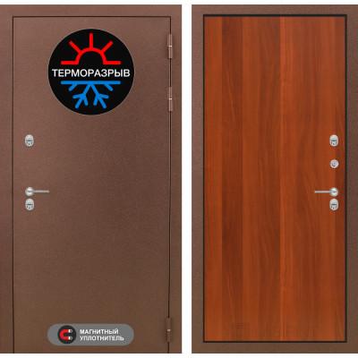 Стальная дверь Лабиринт Термо Магнит 05 (Итальянский орех)