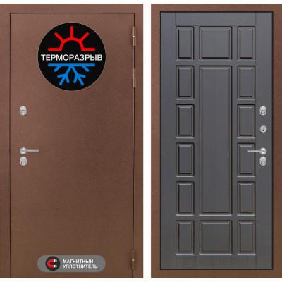 Стальная дверь Лабиринт Термо Магнит 12 (Венге)