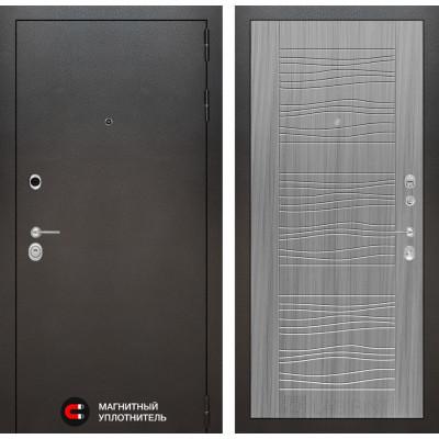Стальная дверь Лабиринт SILVER 06 (Сандал серый)