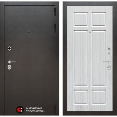 Стальная дверь Лабиринт SILVER 08 (Кристалл вуд)
