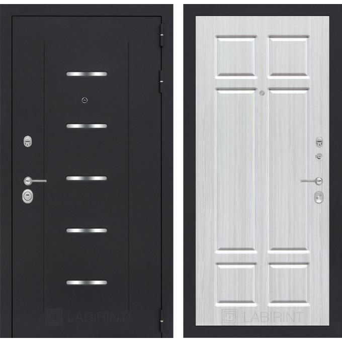 Стальная дверь Лабиринт ALFA 08 (Кристалл вуд)