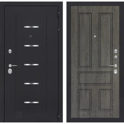 Стальная дверь Лабиринт ALFA 10 (Дуб филадельфия)