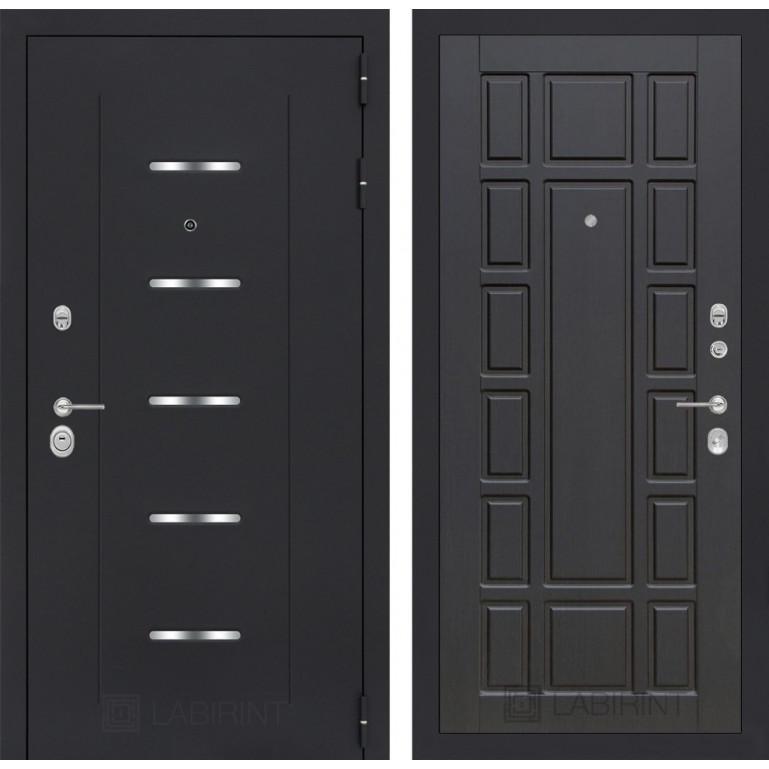 Стальная дверь Лабиринт ALFA 12 (Венге)