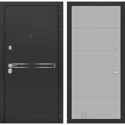 Стальная дверь Лабиринт LINE 13 (Грей софт)
