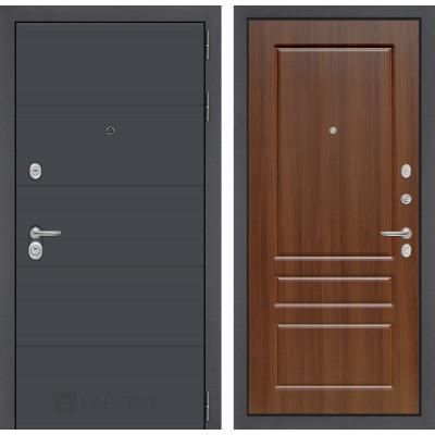 Стальная дверь Лабиринт ART 03 (Орех бренди)