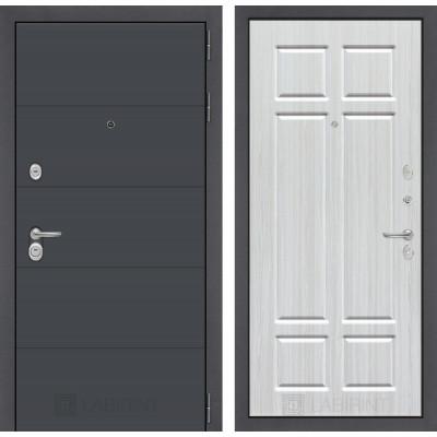 Стальная дверь Лабиринт ART 08 (Кристалл вуд)