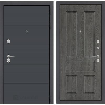 Стальная дверь Лабиринт ART 10 (Дуб филадельфия)