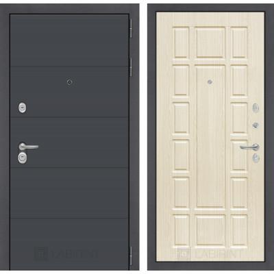 Стальная дверь Лабиринт ART 12 (Беленый дуб)