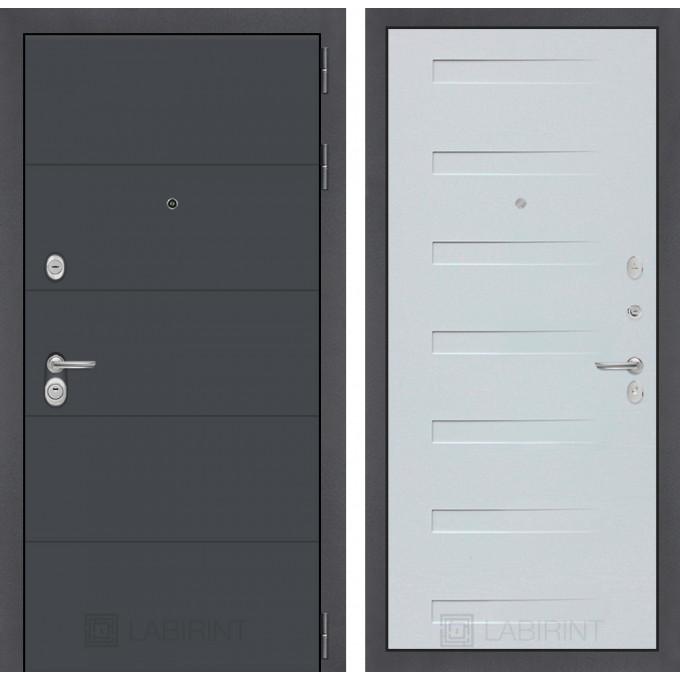 Стальная дверь Лабиринт ART 14 (Дуб кантри)