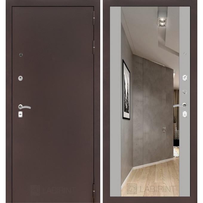 Дверь Лабиринт Classic Максимум (Медный антик / Софт грей)