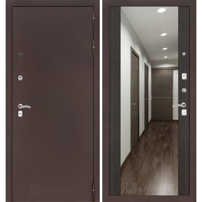 Дверь Лабиринт Classic Максимум (Медный антик / Венге)