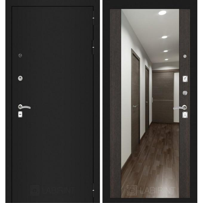 Дверь Лабиринт Classic Максимум (Шагрень черная / Венге)