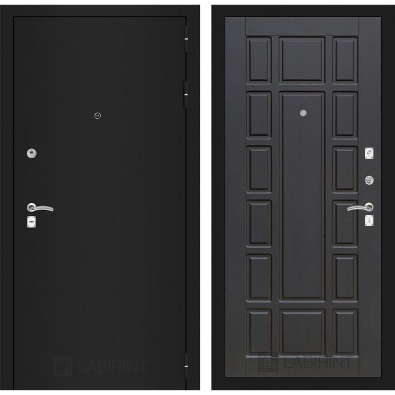 Дверь Лабиринт Classic 12 (Шагрень черная / Венге)