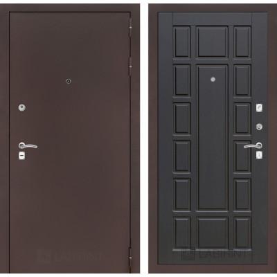 Дверь Лабиринт Classic 12 (Антик медный / Венге)