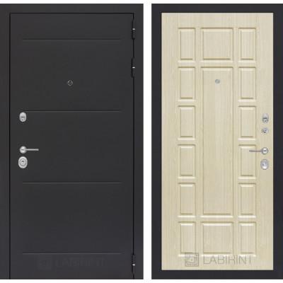 Стальная дверь Лабиринт LOFT 12 (Беленый дуб)