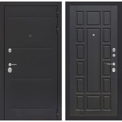 Стальная дверь Лабиринт LOFT 12 (Венге)