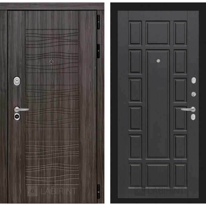 Стальная дверь Лабиринт SCANDI 12 (Венге)