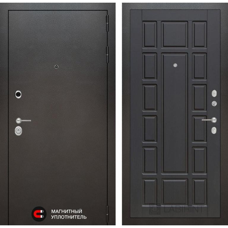 Стальная дверь Лабиринт SILVER 12 (Венге)