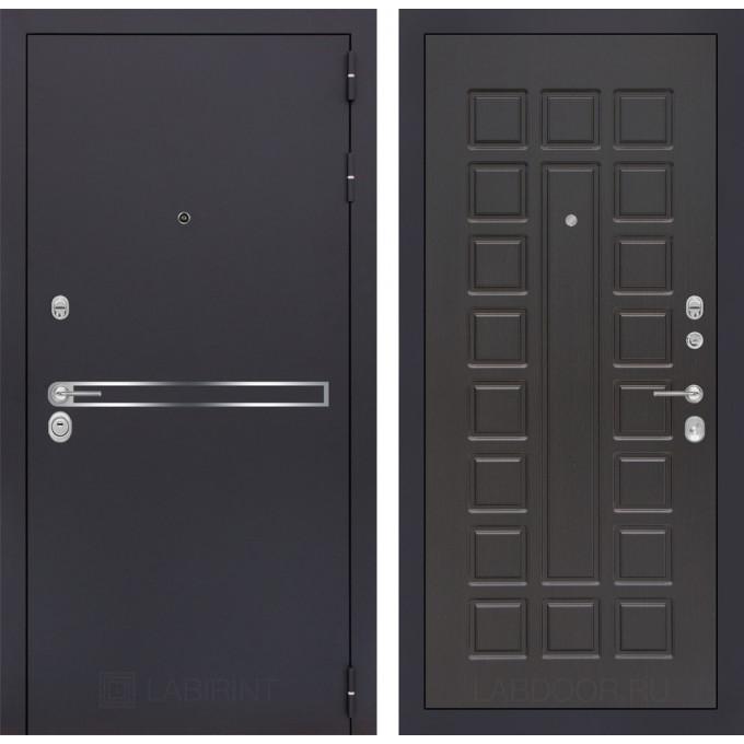 Стальная дверь Лабиринт LINE 04 (Венге)