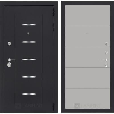 Стальная дверь Лабиринт ALFA 13 (Грей софт)