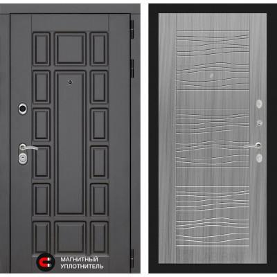 Стальная дверь Лабиринт NEW YORK 06 (Сандал серый)