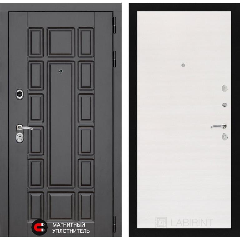 Стальная дверь Лабиринт NEW YORK 07 (Перламутр горизонтальный)