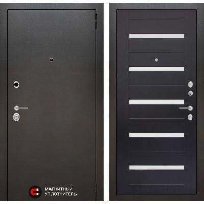 Стальная дверь Лабиринт SILVER 01 (Венге)