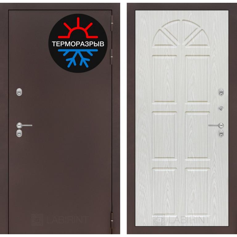 Стальная дверь Лабиринт с терморазрывом (Алмон 25)