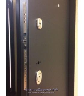 Стальная дверь Лабиринт LOFT 05 (Венге)