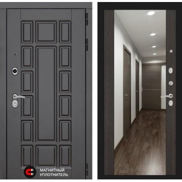 Стальная дверь Лабиринт NEW YORK с зеркалом (Венге)