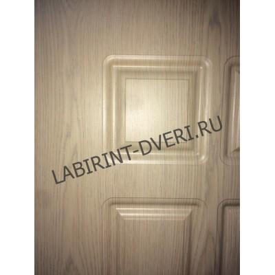 Стальная дверь Лабиринт LOFT 04 (Беленый дуб)