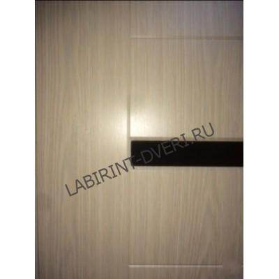 Стальная дверь Лабиринт LOFT 01 (Беленый дуб)