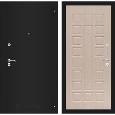 Дверь Лабиринт Classic 04 (Шагрень черная / Дуб беленый)