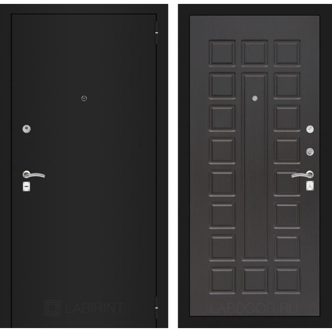 Дверь Лабиринт Classic 04 (Шагрень черная / Венге)