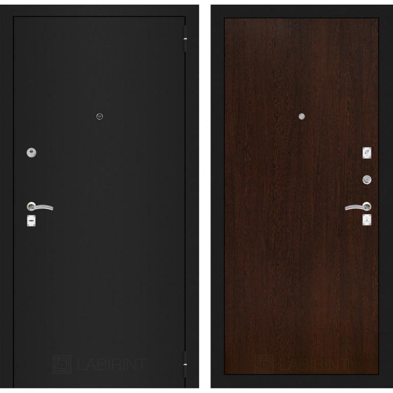 Дверь Лабиринт Classic 05 (Шагрень черная / Венге)