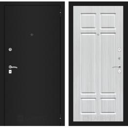 Дверь Лабиринт Classic 08 (Шагрень черная / Кристалл вуд)
