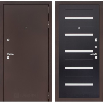 Дверь Лабиринт Classic 01 (Антик медный / Венге)